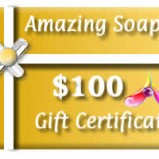 Amazing Soaps - $100 Gift Card