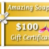 Amazing Soaps - $100 Gift Card